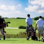 Golf Players at Sunbury Golf Club