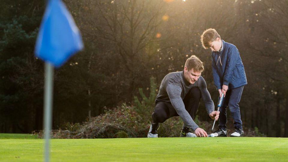 golf junior help